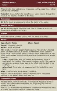 Hazard - Calming Waters